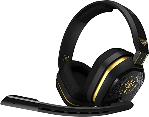 ASTRO Gaming A10 Casque Gamer, Edition The Legend of Zelda, Léger et Résistant, Dolby ATMOS, 3,5mm Audio Jack compati...