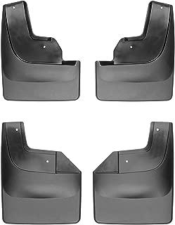 WeatherTech Custom MudFlaps for Ford F-150 Raptor - Front & Rear Set Black (110073-120073)