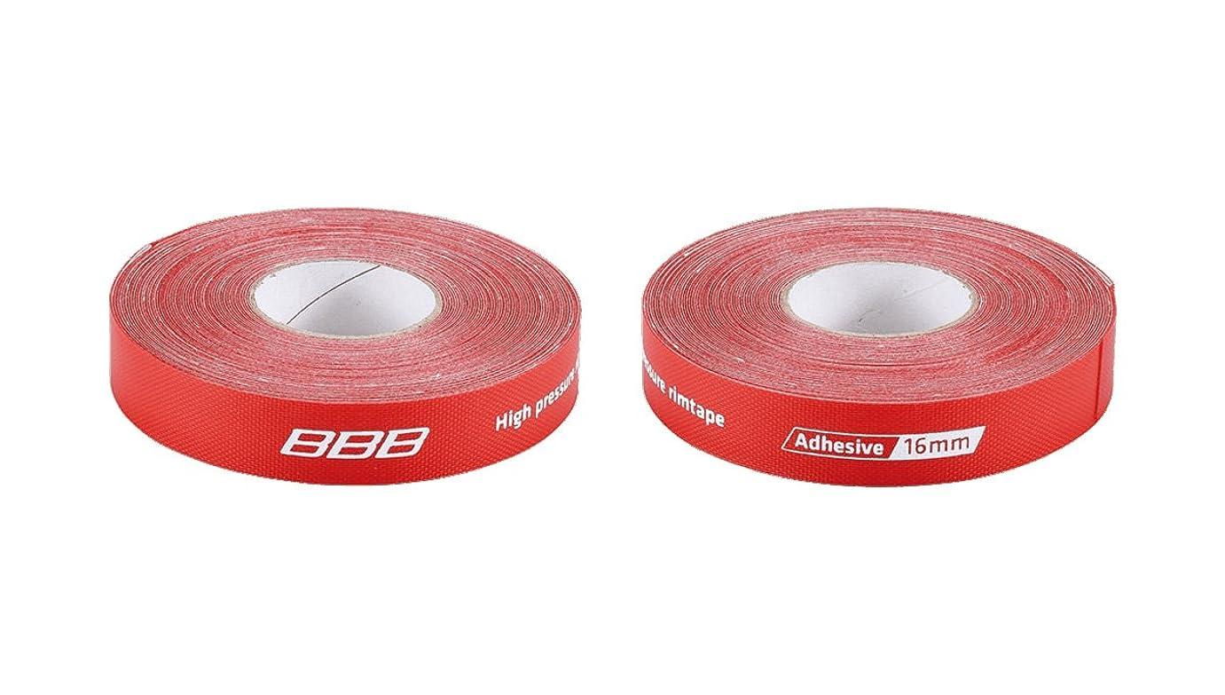 解放噴火安全なBBB 自転車 リムテープ ハイプレッシャー 高圧対応 粘着素材 ロールタイプ BTI
