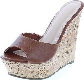 Womens Ardo-42 Popular Wedge Sandal