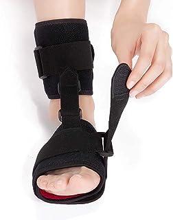 Ortesis de caída del pie ajustable Corrector de tobillo, tobillo Fijación Brace Brace Soporte Protección Férula de correcc...