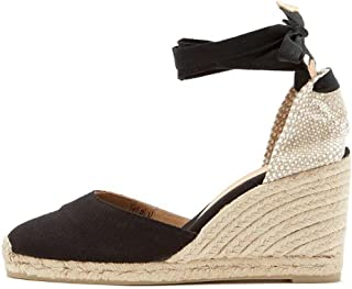 huge selection of 389f9 feb7b Amazon.it: espadrillas donna zeppa lacci