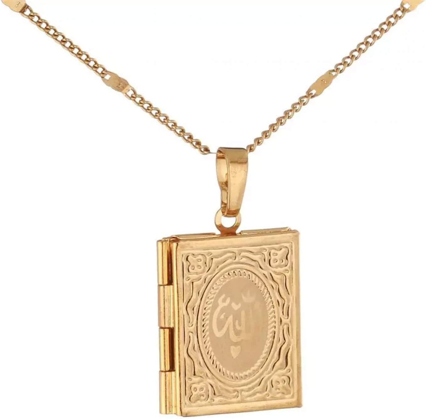 N A Necklace Pendant Gold Pendants gift Color OFFicial mail order Fashion T