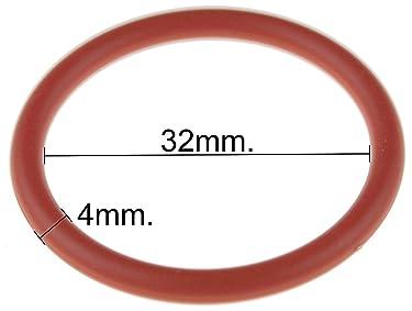 O-Ring Ersatzteil für Saeco Kaffeevollautomat Brüheinheit/Brühgruppe, Innendurchmesser: 32mm, Dicke: 4mm, Außendurchmesser: 40mm