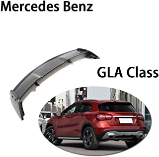 QCWY Car Rear Roof Boot Lip Wing Spoiler For Mercedes Benz GLA Class CLA180 CLA200 CLA250 CLA45 AMG Base Sport 2013-2018 Carbon Fiber CF Rear Trunk Boot Lip Wing Spoiler