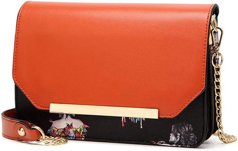 Lianaizog Damenhandtasche Handtasche Mode Damen Umhängetasche Druck Druck Druck Kette Umhängetasche B07KW6QBYB  Ausgezeichnetes Handwerk 68bc87