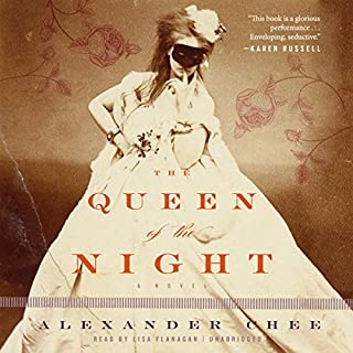 The Queen of the Night audiobook cover art