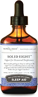 Herbalogic - Solid Eight Liquid Herb Drops - Fast Acting Natural Sleep Aid - Promotes Deep, Restful, Recuperative Sleep Wi...