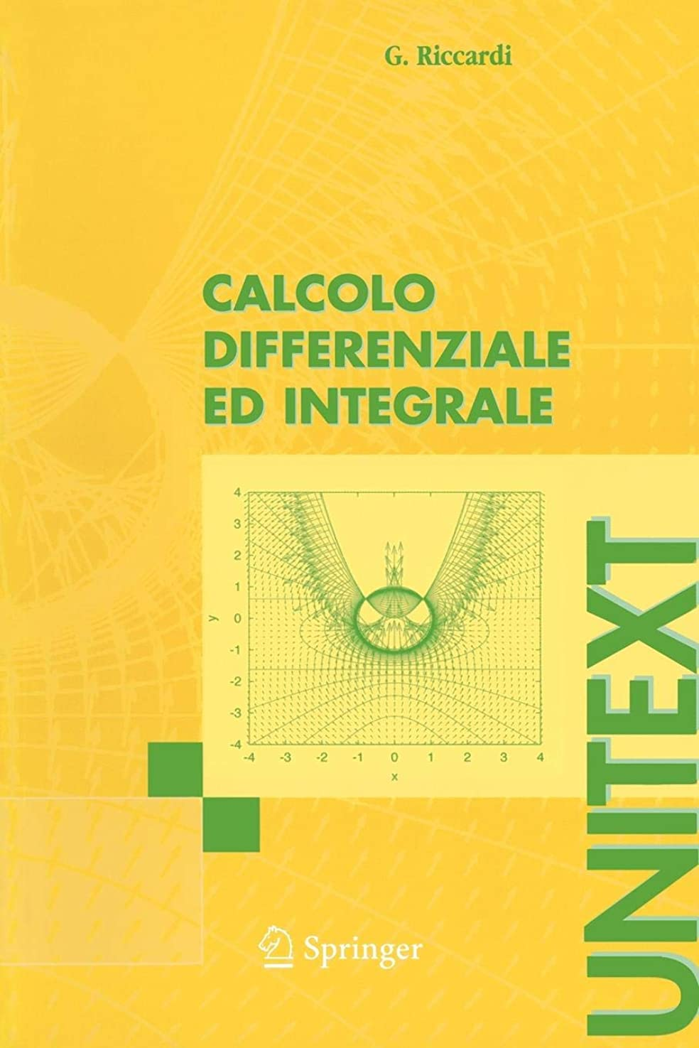 フィードオン博物館エスニックCalcolo differenziale ed integrale (UNITEXT)