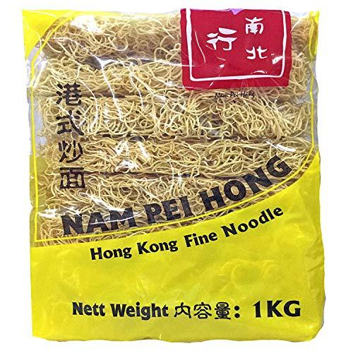廣祥泰・乾麺・焼きそば・香港チャオメン・港式炒麺(コウシキチャオメン)(1.0kg 約16人前) 本格細麺 香港の味 保管に優れた乾燥麺 歯切れの良い軽い食感です