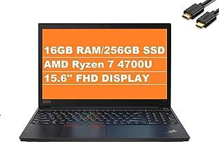 2021 أحدث Lenovo ThinkPad E15 Gen 2 15.6 بوصة FHD 1080p Business Laptop (AMD 8-Core Ryzen 7 4700U (Beats i7-10710u)، 16GB ...