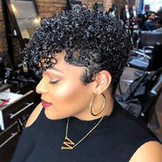 Nishore Women Short Hair Fashion Ladies Hairpiece High-Temperature Fibre Curly Hair Wig