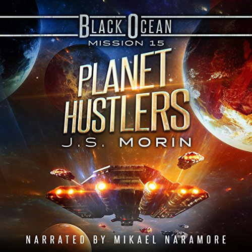 Planet Hustlers audiobook cover art