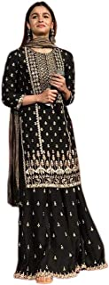 Ethnic Wings Georgette Salwar Suit