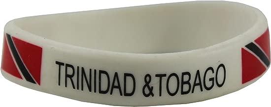 Phoenix's Treasure Trove Trinidad & Tobago Rubber Wrist Band