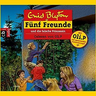Fünf Freunde und die falsche Prinzessin (Fünf Freunde 58) Titelbild