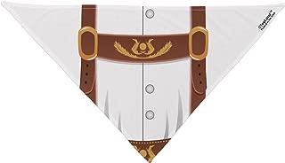 TooLoud Lederhosen Costume Brown Dog Bandana 26
