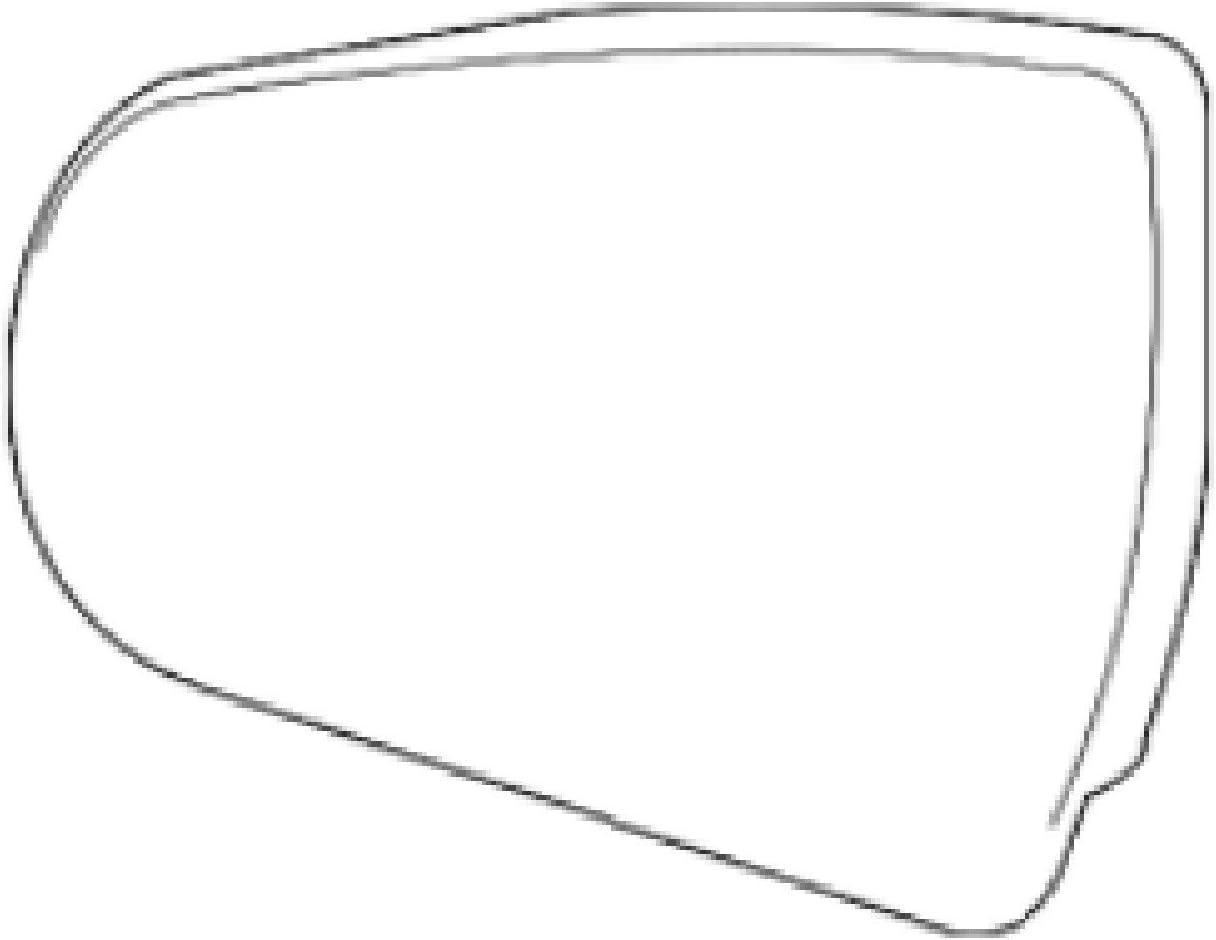Super-cheap Saab Original 9-4x Special price Left Side Mirror 20795181 Glass