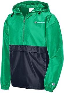 Men's Colorblocked Packable Jacket