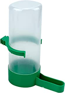 Container Bird Feeder 1pcs Bird Water Drinker Feeder Automatic Drinking Fountain Pet Parrot Cage Bottle Drinking Cup Bowls...