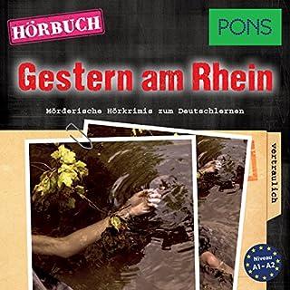Gestern am Rhein. Mörderische Kurzkrimis zum Deutschlern Titelbild