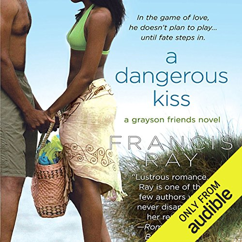 A Dangerous Kiss audiobook cover art
