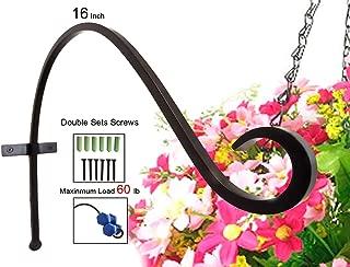 Best outdoor hanging basket hooks Reviews