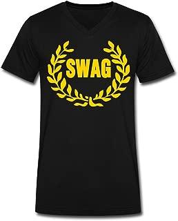 Zausy 2016 Fashion Men's Royal SWAG T-Shirts Black