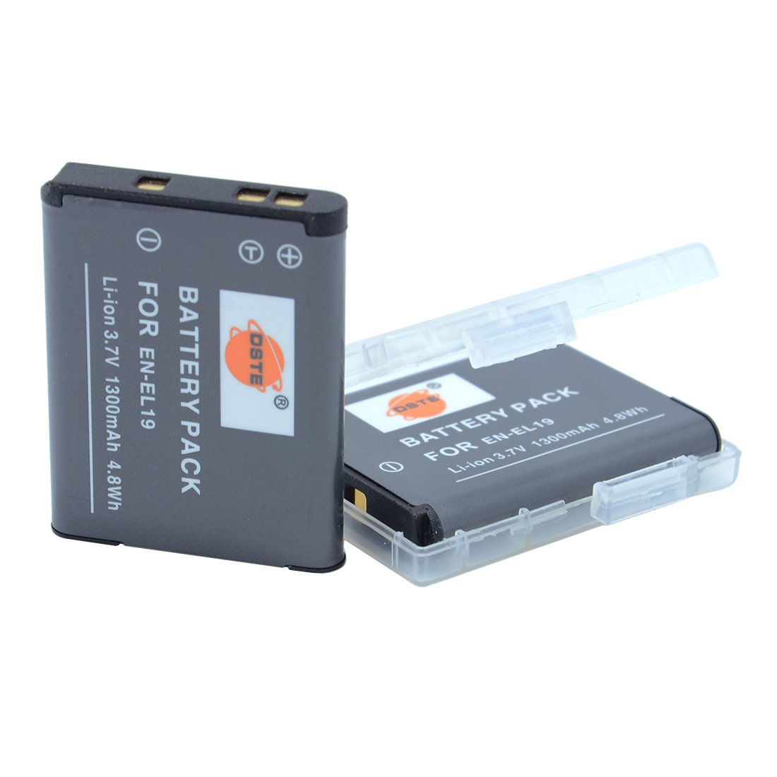 Batería batería para Nikon en-el19 Coolpix s2600; Coolpix s100; Coolpix s2500