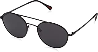 Prada Linea Rossa Sunglasses For Unisex, Black PS50SS 1BO5Z157 56 mm