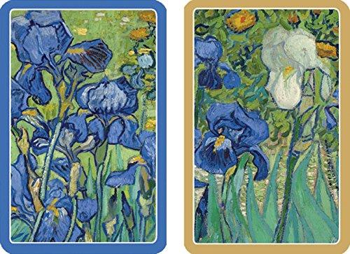 Caspari Van Gogh Irises Bridge Playing Cards