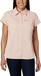 Columbia Women's Silver Ridge Novelty Ss Shirt