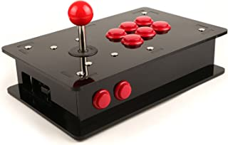 Raspberry Pi Acrylic DIY Retro Game Arcade Kit(NOT include the Raspberry Pi 3),can running the RetroPie emulators, can just download the Game's ROMs and upload to it and make it an arcade in your home