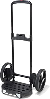 reisenthel Citycruiser Rack, Collapsible Lightweight Dolly with Adjustable Handle, Black