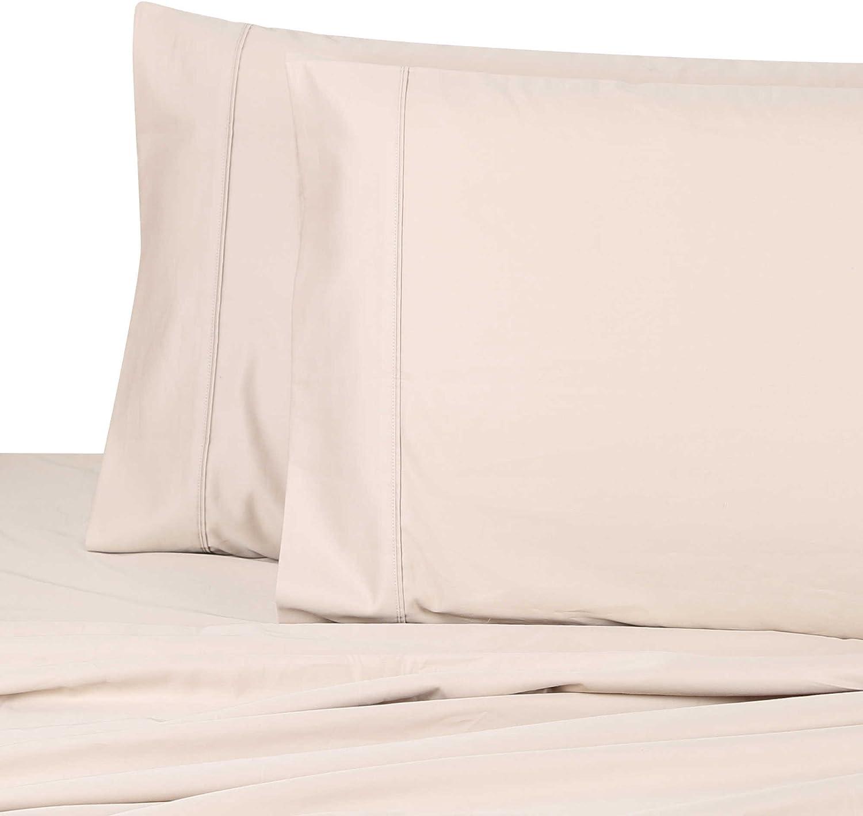 Wamsutta Dream Zone 1000-Thread-Count Premium Cotton Pillowcases (Set of 2) (Taupe, Queen)