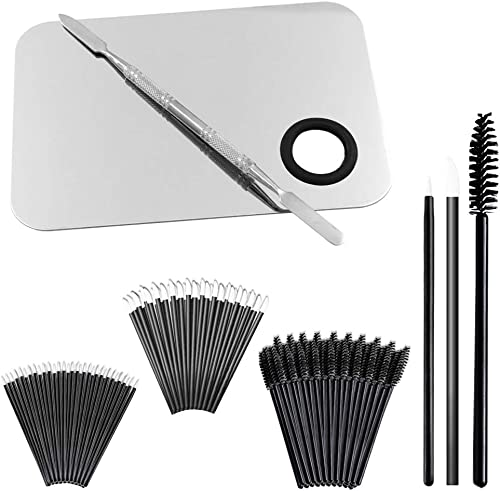 "Professional Makeup Palette with Spatula and 150 Pieces Makeup Brush Kit, SourceTon Cosmetic Palette (5.8""x 3.9"") & M..."
