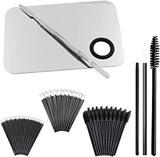 """Professional Makeup Palettewith Spatula and 150 PiecesMakeup Brush Kit, SourceTonCosmetic Palette (5.8""""x 3.9"""")& Makeup..."""