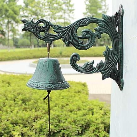 TLMY 錬鉄製の装飾的なドアベルカフェバー壁掛け装飾ヨーロッパレトロヴィラドアベル工芸品28.5×11.5×24センチ レトロなドアベル