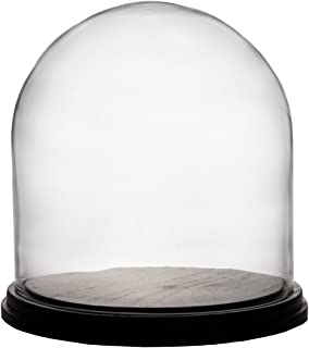 CYS EXCEL Glass Dome, Cloche Bell Jar Terrarium Showcase Piece, Decorative Display Case