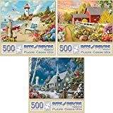Best Jigsaw Puzzles For Adults - Bits and Pieces - Value Set of Three Review