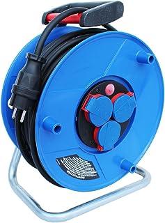 Kabeltrommel Verlängerung Gummikabel Kabel IP44 H07RN-F 3x2.5mm2 40m