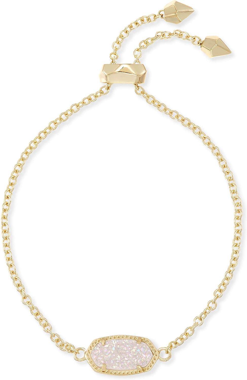 Fashion Jewelry Kendra Scott Elaina Adjustable Chain Bracelet for Women Gold-Plated