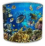 Premier Lighting 20,3cm Table Marine Aquarium Lampshades5, 30,5cm