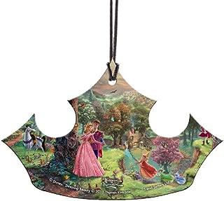 Trend Setters Disney Sleeping Beauty Aurora Crown Hanging Acrylic Sun Catcher Decor - Thomas Kinkade Art