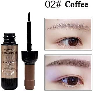 YTGOOD TattooStudio Eyebrow Gel Makeup,Red Wine Shape Peel Off Eye Brow Tattoo Shadow Eyebrow Gel Cosmetics Eyebrow Cream for Women 2# natural brown