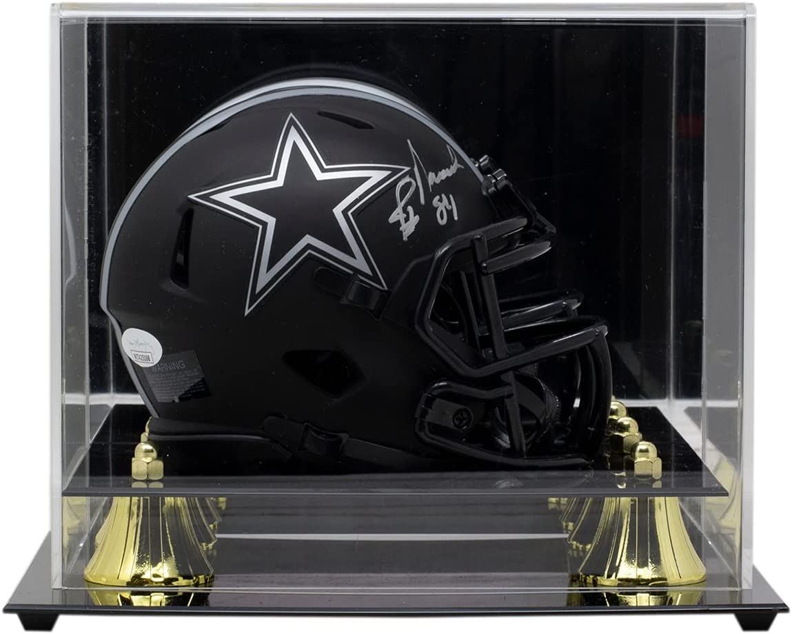 Jay Novacek Signed 2021 spring and summer new Dallas Mini Award-winning store Speed Replica Helmet Ca Eclipse w
