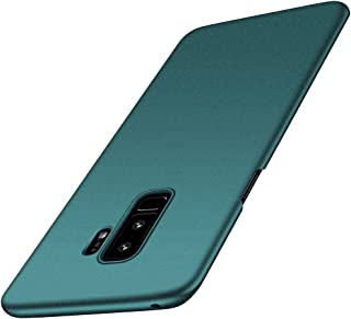 Anccer Samsung Galaxy S9 Plus Case [Colorful Series] [Ultra-Thin] [Anti-Drop] Premium Material Slim Full Protection Cover for Samsung Galaxy S9 Plus (Not fit for Galaxy S9)-Gravel Green