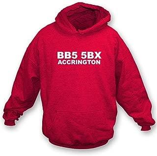 BB5 5BX Accrington Hooded Sweatshirt Accrington Stanley