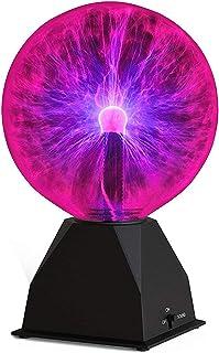 Katzco Plasma Ball - 6 Inch - Nebula, Thunder Lightning,...