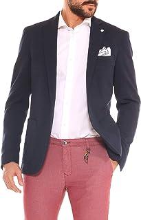 5163c3182789 FB Giacca Uomo Elegante Slim Fit in Jersey Stretch armaturato
